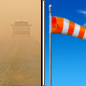 Tuesday: Areas of blowing dust before 10am. Sunny, with a high near 71. Windy.
