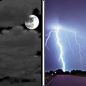 Friday Night: A chance of showers and thunderstorms after 3am.  Mostly cloudy, with a low around 62.