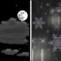 Friday Night: A chance of rain and snow after 3am.  Partly cloudy, with a low around 36.