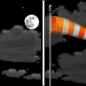 Tonight: Partly cloudy, with a low around 21. Blustery, with an east northeast wind 10 to 15 mph increasing to 18 to 23 mph after midnight.