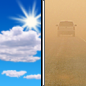 Today: Areas of blowing dust after noon. Mostly sunny, with a high near 62. Breezy, with a southwest wind 5 to 15 mph increasing to 15 to 25 mph in the afternoon. Winds could gust as high as 35 mph.