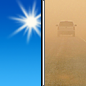 Wednesday: Areas of blowing dust after noon. Sunny, with a high near 91. Windy, with a west southwest wind 8 to 18 mph increasing to 18 to 28 mph in the afternoon. Winds could gust as high as 39 mph.