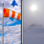 Today: Patchy blowing snow after noon. Mostly cloudy, then gradually becoming sunny, with a temperature falling to around 9 by 5pm. Wind chill values as low as -10. Windy, with a north northwest wind 10 to 15 mph increasing to 16 to 21 mph in the afternoon. Winds could gust as high as 28 mph.
