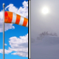 Sunday: Areas of blowing snow after 2pm. Mostly sunny, with a high near 29. Wind chill values as low as -5. Windy, with a west southwest wind 15 to 20 mph increasing to 24 to 29 mph in the afternoon. Winds could gust as high as 40 mph.