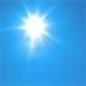 Sunny, with a high near 90.