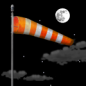 Tuesday Night: Mostly clear, with a low around 45. Windy.