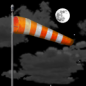Friday Night: Partly cloudy, with a low around 21. Windy, with a southwest wind 30 to 35 mph, with gusts as high as 55 mph.
