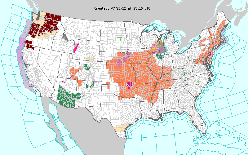 RED FLAG Warning/Watches