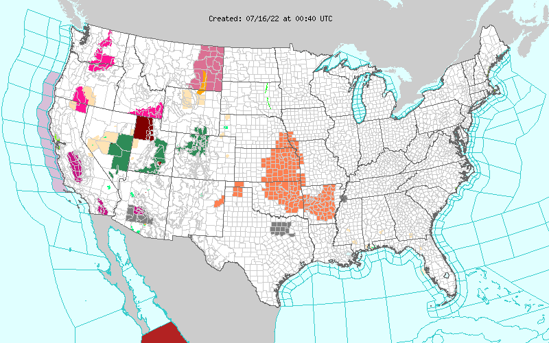 US Watches and Warnings
