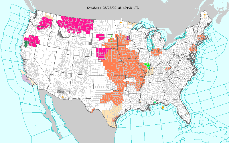 noaa watches warnings