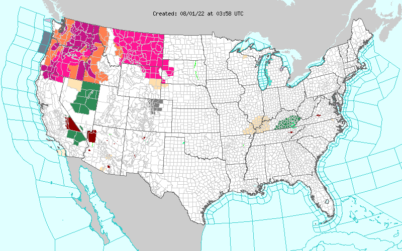 NWS La Crosse Decision Support For Schools Colleges Universities - Us map of universities