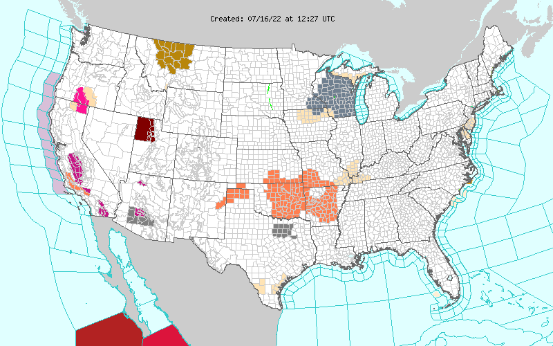 NWS Hazards