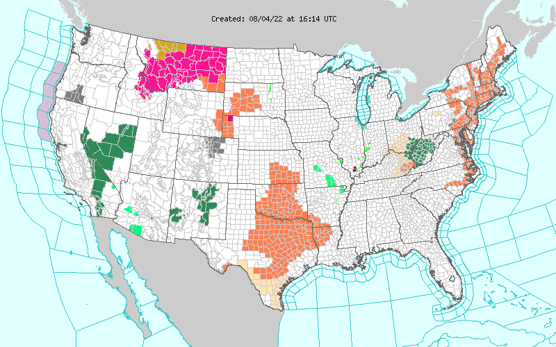 Watches Warnings Advisories NOAA All Hazards Weather Radio