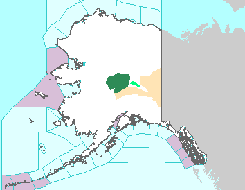 Image of Alaska weather map