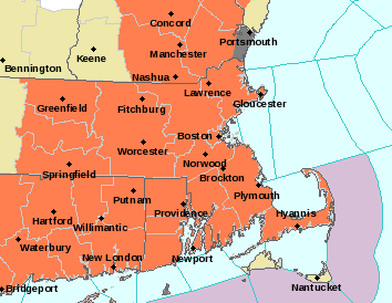 Weather Advisory Map