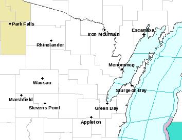 Northeast Wisconsin watch/warning/advisories