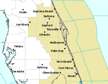 NWS Watch Warning Advisory Map