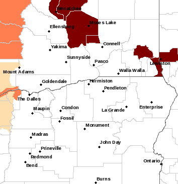 Spokane Watches, Warnings & Advisories