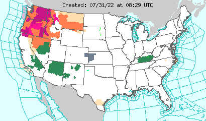NWS Warnings and Forecasts